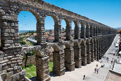 Aqueduct, Segovia, Spain - 2015