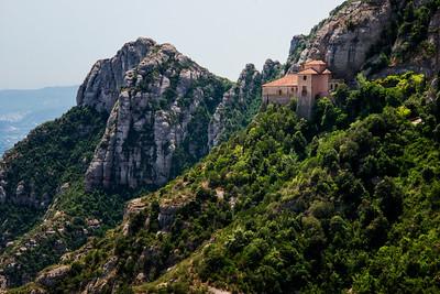 Santa Cova, Montserrat, Spain - 2015