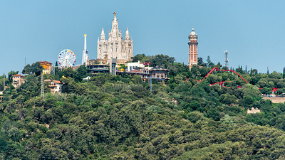 Tibidabo Mountain, Barcelona, Spain - 2015