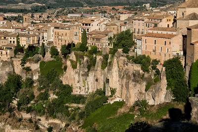 Cliff Edge Houses, Cuenca, Spain - 2015