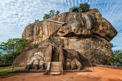 Sigiriya Rock Lion Gate, Sri Lanka - 2017