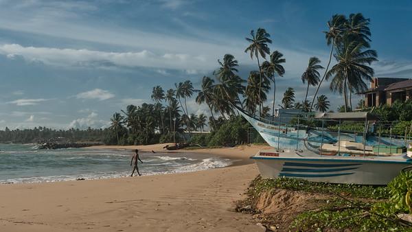 Hikkaduwa Coastline, Sri Lanka - 2017
