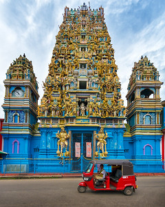 Sri Murugan Kovil Temple in Colombo, Sri Lanka - 2017