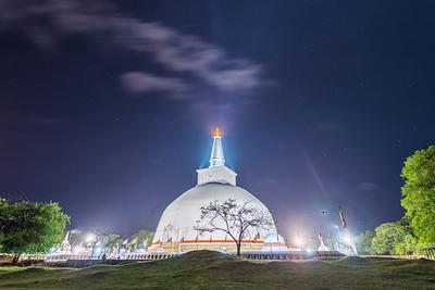 Ruwanwelisaya Stupa in Anuradhapura, Sri Lanka - 2017