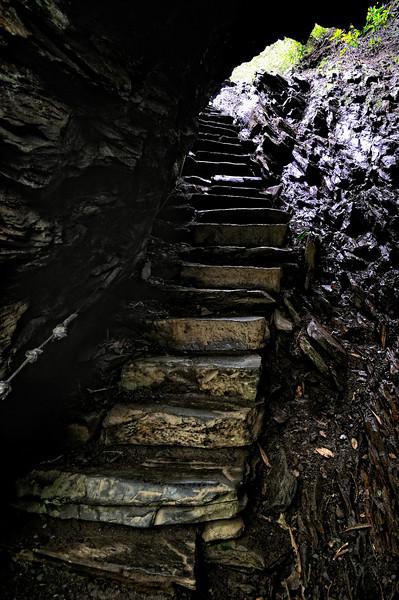 Arch Rock - Alum Bluffs Hike - Smoky Mountains