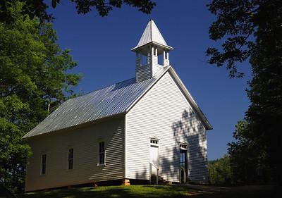 Cades Cove Methodist Church - Great Smoky Mountains National Park