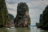 Islands and Kayaks, Phang Nga Bay, Thailand - 2015