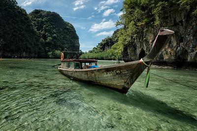 Hong Island Lagoon, Krabi, Thailand - 2015