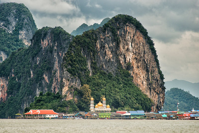 Panyee Village and Mosque, Phang Nga Bay, Thailand - 2015