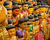Statues at Chatuchak Weekend Market, Bangkok, Thailand - 2015