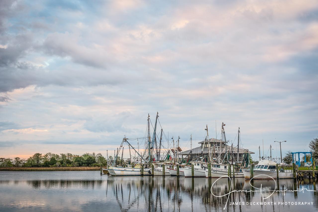 Shrimp Boats, Apalachiacola, Florida