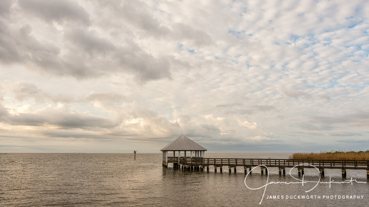 Morning on the Water, Apalachiacola, Florida