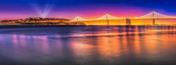 Bay Bridge - Sunset