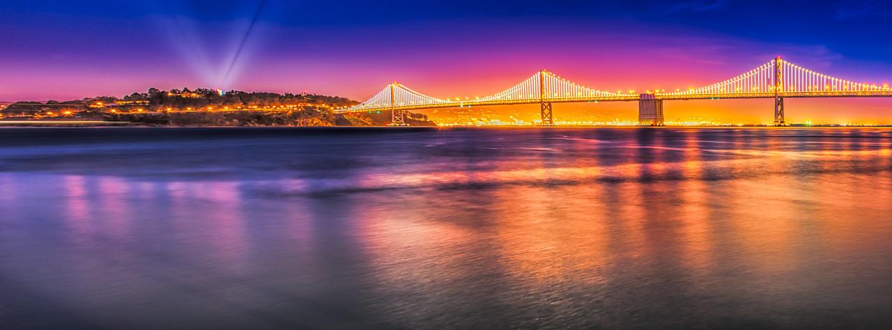 Bay Bridge - Sunset