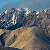 Alaskan Rocky Mountain Range in Denali National Park in Alaska.