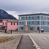 Carcross, Yukon Territory, Canada, a small community on the Klondike Highway. This is a frequent stop for Cruise/Land Tour buses coming from or to Skagway, Alaska.