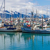 """Harbor area referred to as """"small boat harbor"""" in Seward, Alaska. Extremely popular boating and vacation area."""