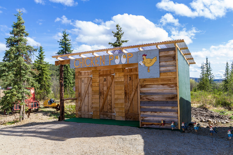 """Chicken, Alaska, is a tourism based small town on the """"Top of the World Highway"""" between Dawson City, Yukon Territory, and Tetlin Junction, Alaska."""
