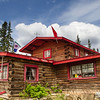 Moose Creek Lodge, a roadhouse on the North Klondike highway in the Yukon Territory, Canada, is a good stop for tourists and outdoors folks alike, in an area where food and lodging is rare and spaced far apart.