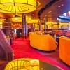 Luxurious interior of Holland America Cruise Ship Volendam.