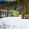 White Pass and Yukon Route (WP&YR) Railroad train ride from Skagway, Alaska to Fraser, British Columbia makes use of the incredible engineering accomplishment involved in building this railroad. The WP&YR was designated an international Historic Civil Engineering Landmark in 1994 in recognition of the difficult and hazardous obstacles, including unimaginable weather conditions, faced in the construction of the route.