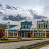 Skagway, Alaska, a regular port of call city for Cruise Ships traveling to Alaska via the Inside Passage. Colorful historic town.