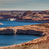 Glen Canyon Dam on the Colorado River, creating Lake Powell and The Glen Canyon National Recreation Area.
