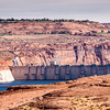 Glen Canyon Dam on the Colorado River at Page, Arizona.