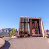 The Chapel of the Holy Cross is a Roman Catholic chapel built into the mesas of Sedona, Arizona, which was inspired and commissioned by sculptor Marguerite Brunswig Staude.