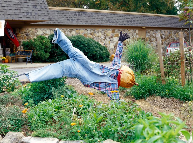 Dummy at Ozark Folk Center in Mountain View, Arkansas.