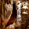 Blanchard Springs Caverns near Mountain View, Arkansas, is administered by the US Forest Service.