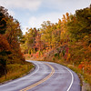 "Autumn Color in Arkansas on scenic highway 7. This famous drive for fall color is designated a ""scenic byway."""