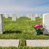 Fort Rosecrans National Cemetery on Point Loma Peninsula in San Diego, California.