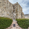Mission San Juan Capistrano in California -ruins, museum, and rehabilitation in progress.