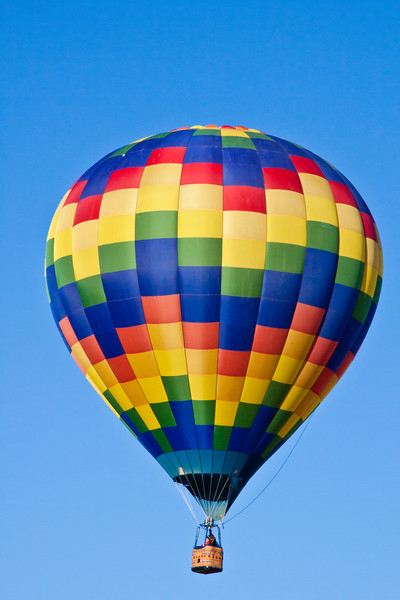 Mancos Valley and Mesa Verde County Balloon Fest near Mesa Verde National Park in Colorado.