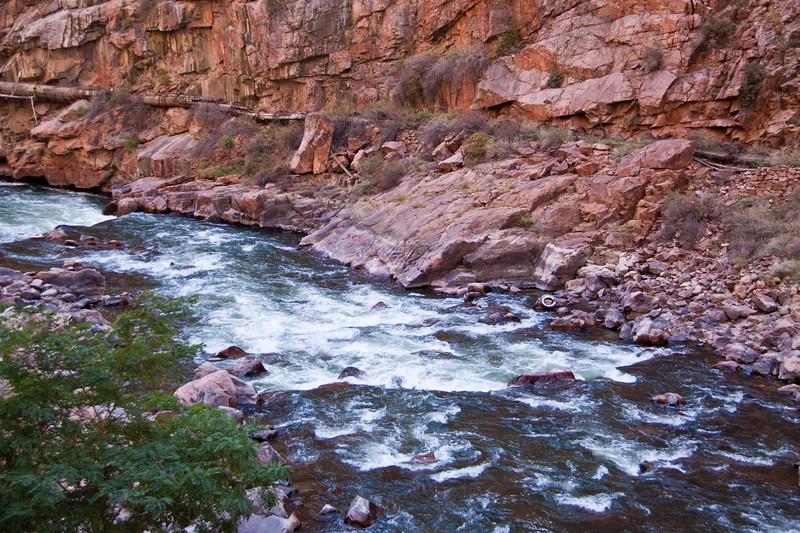 Arkansas River in the Royal Gorge Canyon of Colorado.