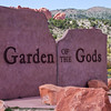 Garden of The Gods free public park at Colorado Springs, Colorado. This park has outstanding geological features and formations.