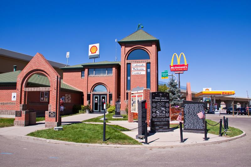 Colorado Welcome Center at Trinidad, Colorado.