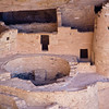 Ancient cliff dwellings in Mesa Verde National Park in Colorado date back to before 1300 AD.