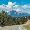 View from US 24 near Buena Vista, Colorado.