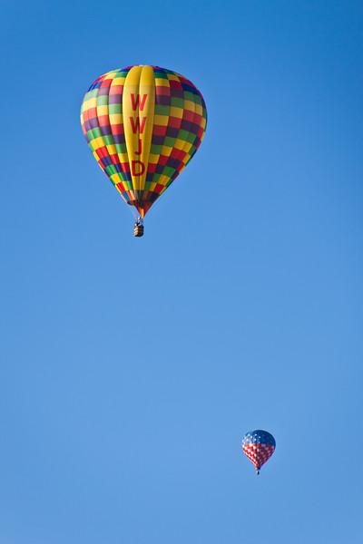Balloon Fest near Mesa Verde National Park in Colorado.
