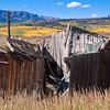 Abandoned Barn on Ohio Pass Road near Gunnison, Colorado.
