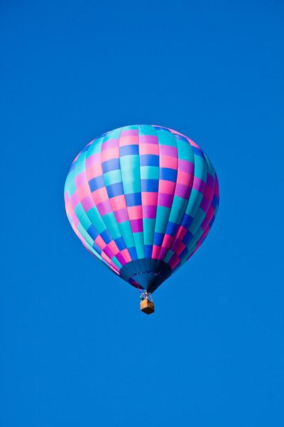 Mancos Valley and Mesa Verde County Balloon Fest near Mesa Verde National Park in Colorado.