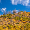 Autumn at Mesa Verde National Park in Colorado. Mesa Verde was designated a National Park in 1906 to protect the well-preserved Cliff Dwellings for which it is famous. The park is also a UNESCO World Heritage Site.