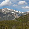 View from Boreas Pass road near Breakenridge, Colorado. Altitude at summit is 11, 482 feet - along the Continental Divide.