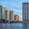 Downtown Jacksonville on St Johns River, FLorida.