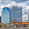 Jacksonville Landing, upscale downtown shopping and restaurant center in Jacksonville, Florida.