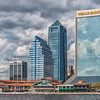 Jacksonville Landing, on St Johns River in downtown Jacksonville, Florida.