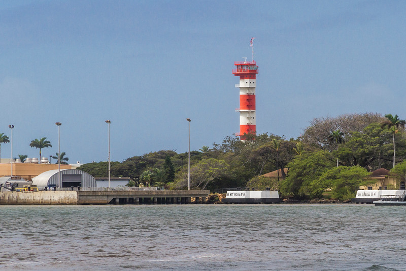Famous Air Traffic and Submarine Tower on Ford Island at Pearl Harbor, in Hawaii, has been renovated. The original towers were significant in the attack on Pearl Harbor and as defense against submarines during the rest of the war.