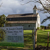 St. Joseph Church at Kaupo, Maui, on the back road to Hana (or Piilani Highway).